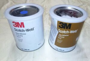 3m Scotch weld Two Part 2hr Working Time 2 000 Psi Shear Strength Epoxy sd9