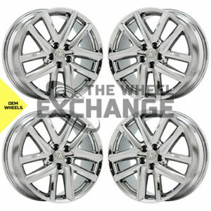 19 Lexus Gs 200 300 350 450 F Sport Pvd Chrome Wheels Factory Oem Set 4 74347