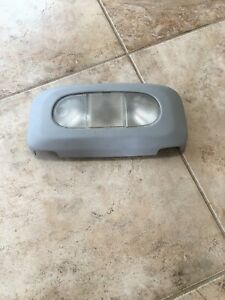 2004 08 Ford F150 Oem Overhead Track Console Rear Dome Map Light Panel Grey