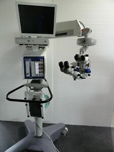 Zeiss Opmi Lumera T Ophthalmology Microscope S88 Stand Trio Hd Surgical