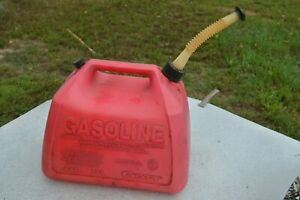 Vintage Pre ban Rubbermaid Gott 5 Gallon Vented Gas Can Pre owned