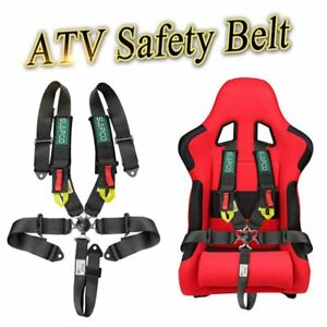 5 Point 3 Racing Shoulder Seat Belt Racing Harness For Atv Buggy Off Foad