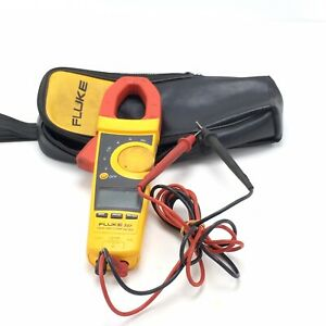 Fluke 337 Trms Clamp Meter With Leads And Case