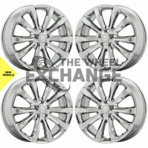 19 Chrysler 300 Awd Pvd Chrome Wheels Rims Factory Oem Set 4 2538