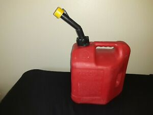 Vintage Blitz Pre Ban 2 Gallon 8 Ounce Gas Can Model 50810