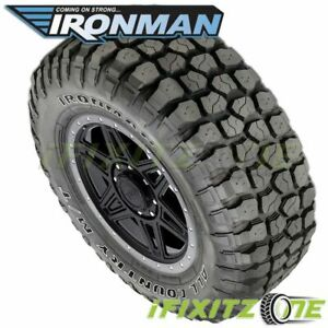 1 Ironman All Country M t 33x12 50r15 6 c 108q Owl 4wd Truck All season Mud Tire