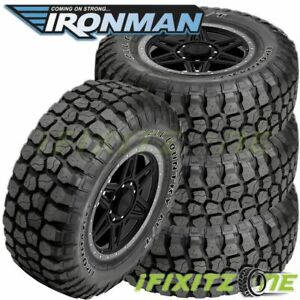 4 Ironman All Country M t 33x12 50r15 6 c 108q Owl 4wd Truck All season Mud Tire