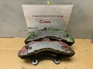 04 2010 Cayenne Vw Touareg 17z 6 Piston Front Brembo Caliper Pair Left Right