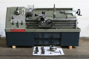 17 Swg 40 Cc Clausing colchester 8053 Engine Lathe Inch metric gap taper Ste