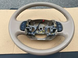 1997 2003 Ford Steering Wheel Tan Leather F 150 F 250 F 350 Expedition W Cru