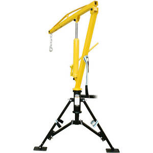Hydraulic Crane Hitch Mount Portable Affordable Removable Truck Accessories