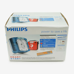 Philips Heartstart Home Aed Defibrillator With Slim Carry Case M5068a