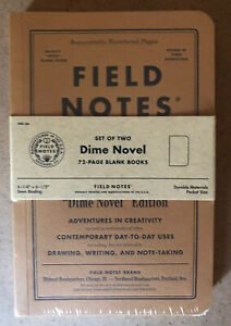 Field Notes Limited Edition dime Novel Fnc 36 Fall 2017