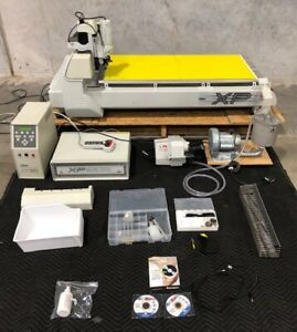 Hermes Gravograph Is8000xp Rotary Engraver Machine