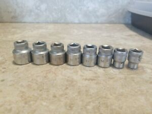 12 Point Metric Socket Set 3 8 Drive 8 Piece Set