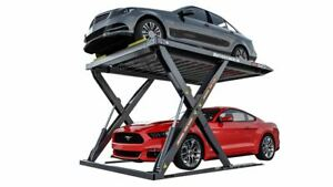 Autostacker A6w 6 000 Lbs Extra Wide Platform Parking Lift