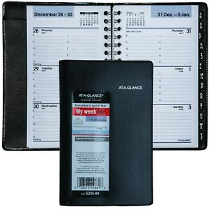 2021 At a glance Dayminder G235 00 Weekly Appointment Book Tele Address Section
