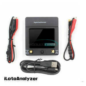 Mini Handheld Oscilloscope Dso112a 2mhz Touch Screen 2 4inch Tft Digital