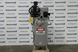 Westward 5f565a 7 5hp 2 stage 80 Gallon Reciprocating Air Compressor