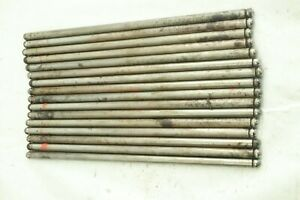 1968 1979 Dodge Chrysler Plymouth Mopar 440 Push Rod Set Of 16 Solid Pushrods