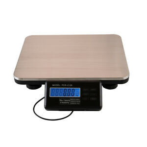 Digital Bench Scale Lcd Floor Platform Scale Shipping pet Postal 300kg 660 Lbs