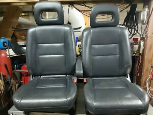 Rare 1997 2001 Honda Crv Front Leather Seats rd1rd2 rd3