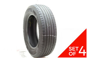 Set Of 4 Used 235 65r18 Hankook Dynapro Hp2 106h 6 6 5 32
