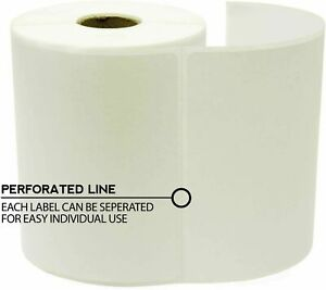 4 x 6 Direct Thermal Shipping Labels For Zebra 250 Labels Per Roll 1 Roll