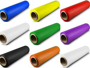 18 x 1500 Ft Pallet Stretch Shrink Wrap Parcel Packing Cling Film All Colours