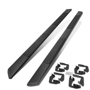 For 2007 2020 Toyota Tundra Extended Crew Crewmax Cab 5 Black Ss Running Boards