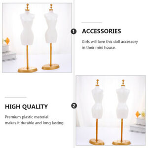 6 Pcs Doll Mannequin Support Doll Model Stand Cloth Stand For Decor Gift Doll