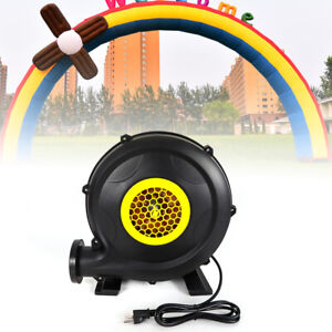 Air Blower Pump Fan For Inflatable Paint Booth Custom Tent Castle Bouncer 370w