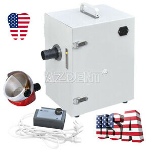 Dental Lab Digital Single row Dust Collector Vacuum Cleaner Suction Base