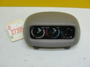 97 98 Ford Expedition Temperature Control Rear Ac Heater Switch Panel Console