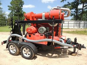 2005 Walinga Central Vac Dust Collector Trailer Rig
