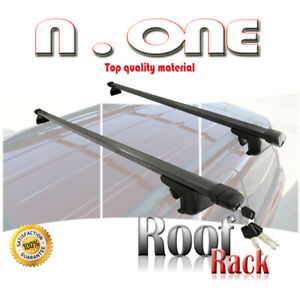 Roof Rack Lock Cross Bar Top Rail Mount Luggage Holder Cargo Carrier Fit Subaru