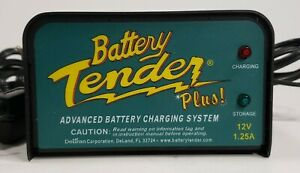 Deltran Battery Tender Plus 12v 1 25a Battery Charger 021 0128 Fast Shipping