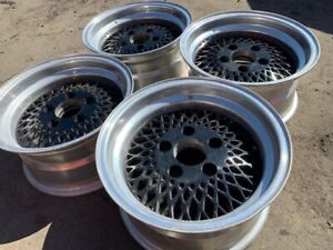 14 Mesh Wheels Rims Alloy Mag American Racing 92 Enkei