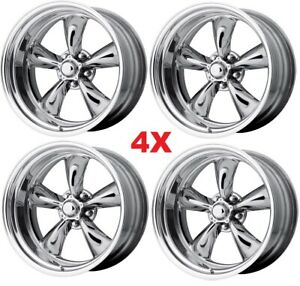 15x10 Wheels Rims Torq Thrust Polished C10 Vn505 4