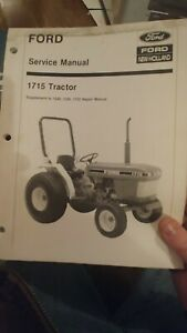 Ford New Holland 1715 Tractor Service Manual