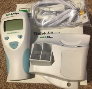 Welch Allyn Thermometer 01690 300 With Wall Mount New In Original Box