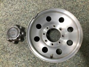 99 00 Ford F350 Super Duty 16x7 Used Aluminum Wheel Rim 8 Lug W Hub Cap