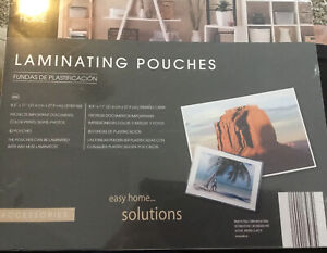 Easy Home Laminating Pouches 8 5 X 11