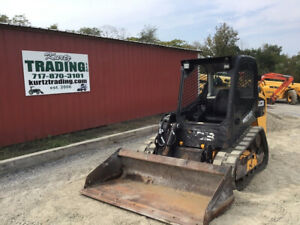 2016 Jcb 190t Compact Track Skid Steer Loader Only 2200 Hours