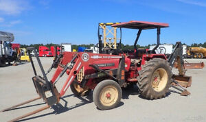 2004 Mahindra 575di 2wd Compact Tractor Loader Backhoe Only 1500 Hours