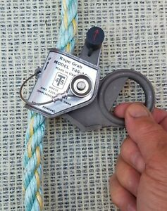 Usa Rope Grab Fall Protection For 5 8 Rope Anti panic Trailing St steel