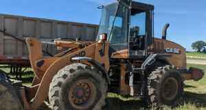 2004 Case 621d Wheel Loader W Cab Coupler Cheap Snow Machine