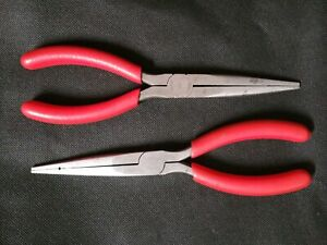 Snap On 597ccp And 97ccp Needle Nose Pliers Preowned Good Condition