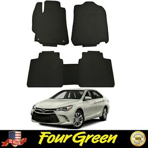 All Weather Floor Mats For Toyota 2012 2017 Camry Rubber Mats