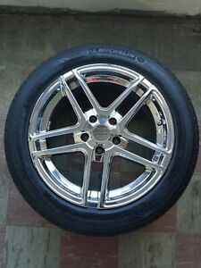 4 Used 17 American Racing Rims And Tires minor Rash On 2 Rims clean Otherwise